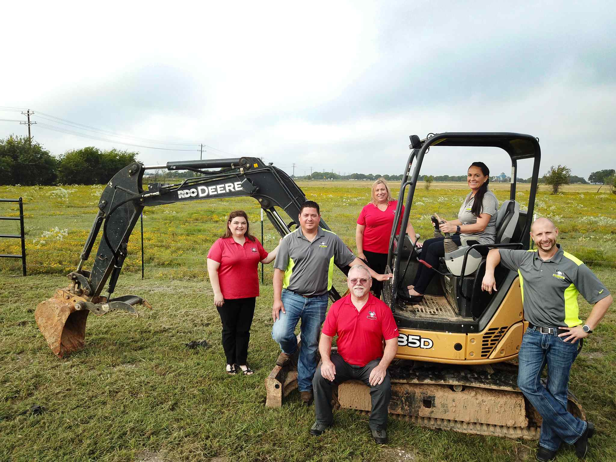 Hughes excavating LLC Dallas Staff