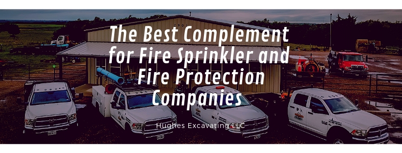 The best complement to fire sprinkler and fire protection companies